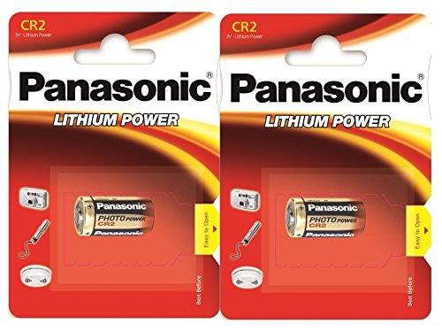 Panasonic CR2 Batterien-Pack, 2 Stück