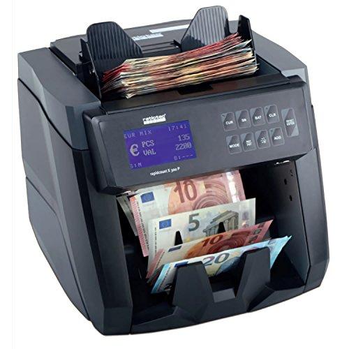 Contadora detectora de billetes falsos