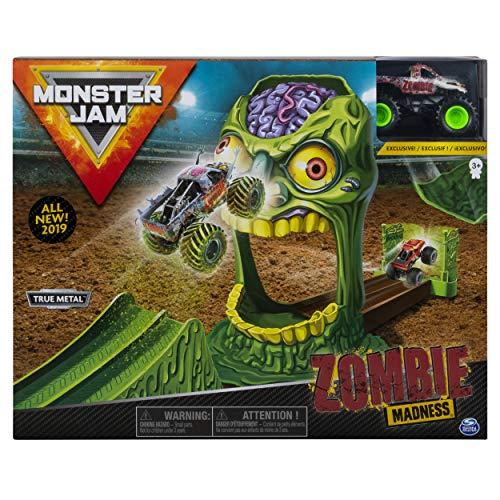 Monster Jam 6053298 - Coche de Juguete Zombie Madness (Escala 1:64)