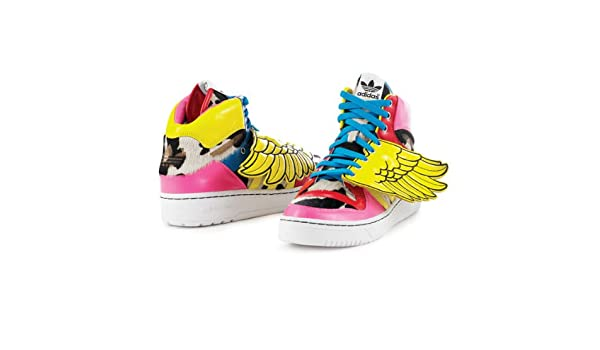 cheaper 77f3b 8982f Adidas Js Jeremy Scott Wings Leopard 2ne1 Original Obyo V20692 (8.5)   Amazon.co.uk  Sports   Outdoors