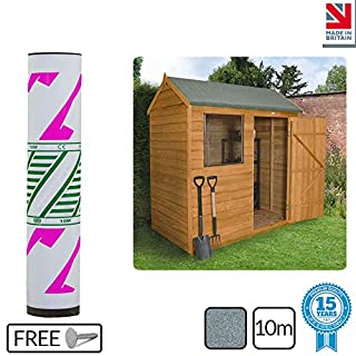 Ashbrook Roofing Super Grade Shed Felt | Polyester Reinforced Felt |15 Year Life Expectancy | 10m (Green)