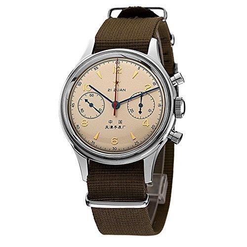 sea-gull Gabbiano 1963 a mano Vento cronografo meccanico con Sapphire Crystal