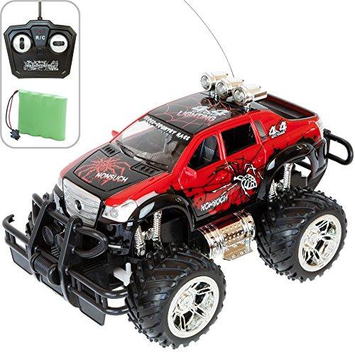 Monstertruck POWER 1:16 in 6 Variationen mit Fernbedienung + Akku, perfekt für Kinder