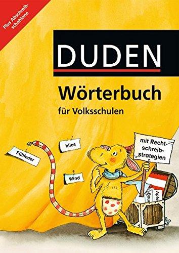 Duden Wörterbuch - Österreich: 2.-4. Schuljahr - Wörterbuch mit Abschreibschablone