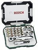 Bosch DIY 26tlg. Schrauberbit- und Ratschen-Set -