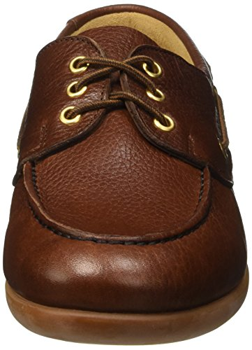 Sebago Gary Jobson Leather Tumbled, Mocassins Homme Marrone (Tan)