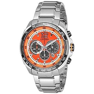 Citizen Chronograph Orange Dial Men's Watch-CA4234-51X