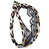 Dolity Lingerie Biancheria Intimo Slip Perizomi String Tanga Leopardo Mutande Mutandine C-tring per Donna