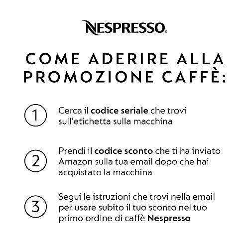 Nespresso Inissia EN80.B Macchina per caffè Espresso, 1260 W, 1 Cups, 14 Decibel, Plastica, Nero (Black) Img 4 Zoom