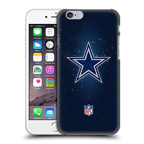 fizielle NFL LED 2017/18 Dallas Cowboys Logo Harte Rueckseiten Huelle kompatibel mit iPhone 6 / iPhone 6s ()