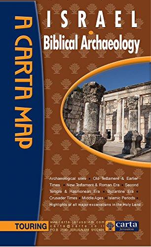 Israel: Biblical Archaeology (Carta Map)