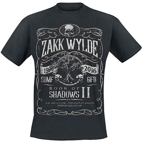 Summer Fashion Short Sleeve Tee Tops Book of Shadows II Zakk Wylde T-Shirt Mens Printed Tops Tees - Double Dry Short Sleeve Tee