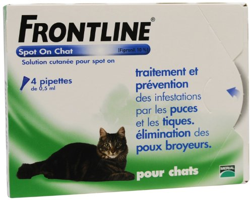 merial-frontline-chat-spot-on-4-pipettes