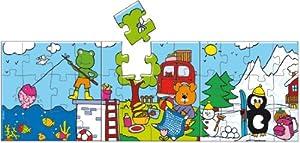 Vilac - Puzzle de madera de 12 piezas (Vilac - Vilac 2525)