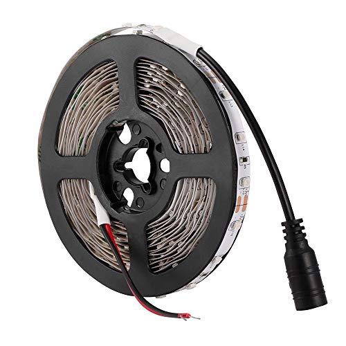 Vvciic LED-UV-Schwarz-Licht-Streifen-Kit 12V Flexible schwarz Leuchten mit 60 Einheiten UV-Lampe Perlen 30W Nicht-Wasserdichtes -