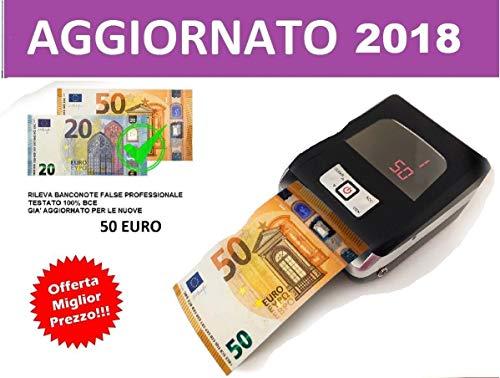 081Store - Verificatore Banconote False Rileva e conta banconote a batteria professionale