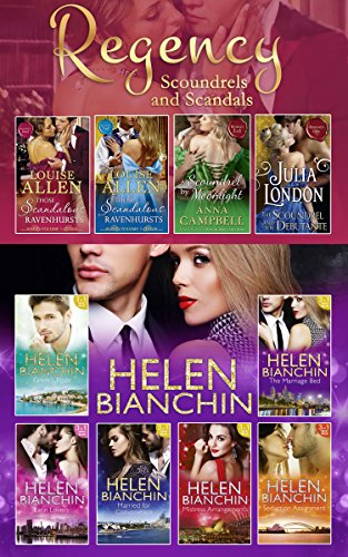 book cover of The Helen Bianchin / The Regency Scoundrels And Scandals Collections