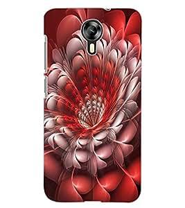 ColourCraft Beautiful Flower Design Back Case Cover for MICROMAX CANVAS XPRESS 2 E313