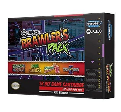 Retro-Bit Europe Jaleco Brawler's Pack PAL Version SNES Cartridge for Super NES (Electronic Games)