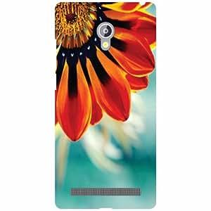 Asus Zenfone 6 A601CG Back Cover - Red Bud Designer Cases