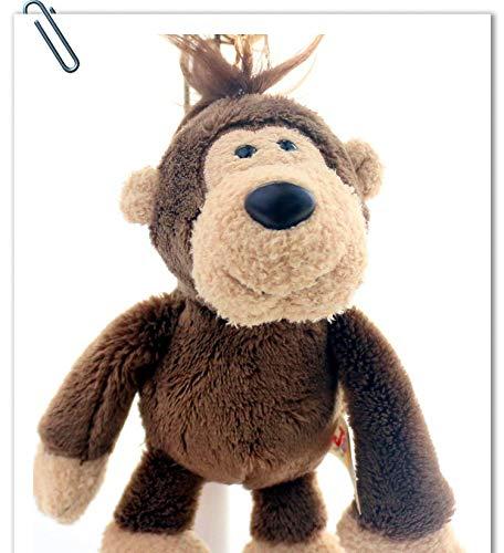 Niedliche Tier Weiche Stofftier Cartoon Auto Rucksack Hängen Schlüsselanhänger Pp Baumwolle Plüsch Anhänger Kleines Geschenk 15 cm G (Valentines Hund Stofftier)