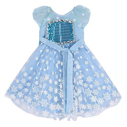 jerferr Kleider Kleinkind Kostüm Prinzessin Mantel Kostüm Kleid und Accessoires Cosplay Weihnachten Geburtstag