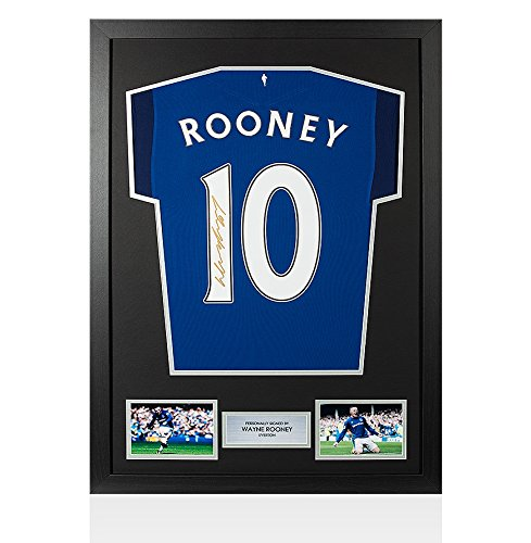 Framed-Wayne-Rooney-Signed-Everton-Shirt-Home-20172018