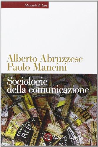 Sociologie della comunicazione