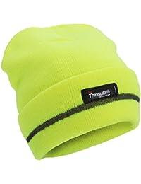 FLOSO - Bonnet thermique haute visibilité - Adulte unisexe