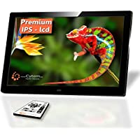 Cytem Diamine 10i-w IPS Display; Digitaler Bilderrahmen 25,7cm (10.1 Zoll, 16:10 Breitbild); HD-Video (720p), schwarz