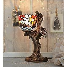 Tiffany Lampe Jugendstil Tischleuchte Frauenfigur Tischlampe Antik Palazzo Exklusiv