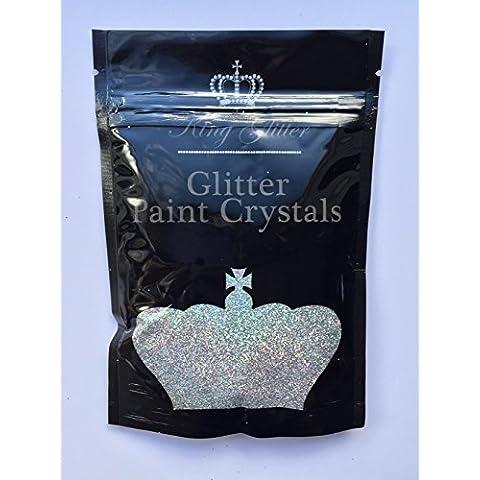 Vernice Glitter, cristalli Iridescent