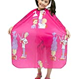 Colorfulife Child Hair Cutting Waterproof Cape Barber Kids Hair Styling Cloth With Snap Closure Professional Home...