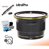 UltraPro 58mm 0.38x High Definition Fisheye Lens With Macro Attachment For The Canon VIXIA XA10