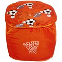 Preisvergleich für Design 4 Spielzeugbox Fußball 2 Aufbewahrungsbox Spielzeugtruhe Aufbewahrungstonne Spielzeugkiste