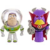 Mattel Disney Pixar Toy Story - Buzz & Zurg Figures (Dpf05)