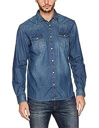 Wrangler Herren Jeans Hemd Western Denim Shirt