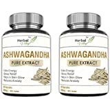 HerbalValley™ Wellness Pure Herbs Ashwagandha General Wellness - 60 Capsules (Pack Of 2)