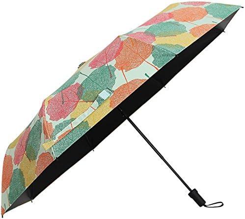 Ombrelli Xiuxiutian Ombrello pieghevole barometro barometro barometro con due in gomma nera ombrelloni ombrelloni UV per la prossoezione solare | Vinci molto apprezzato  | Sulla Vendita  f2e4a3