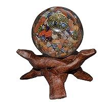 Crocon Mix Chakra Energetische Sphere Ball Tree of Life Symbol Energie Generator für Reiki Healing Chakra Balancing... preisvergleich bei billige-tabletten.eu