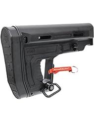 A.P.S RS1 Culata Plegable para APS Airsoft AEG (Negro) - AirsoftGoGo Llavero Incluido