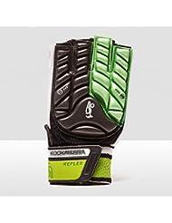 KOOKABURRA Unisex Reflex Hand Guard M L/H Hockey Schutzausrüstung, schwarz/lime, M