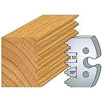 237: Juego de 2 grilletes enture firmin ht 50 mm, para herramientas entr'plot eje 24 mm