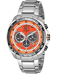 Citizen Chronograph Orange Dial Men's Watch - CA4234-51X