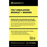 Manhattan GMAT Test Simulation Booklet w/ Marker (Manhattan Prep GMAT Strategy Guides)