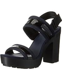 Calvin Klein Jeans Lalita Patent/Mesh, de Tiras para Mujer