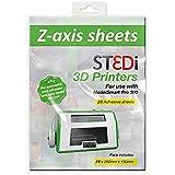 St3Di 946424 - Hojas de impresora 3D, 20 hojas, color multicolor