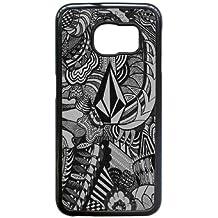 Samsung Galaxy S6 Edge Cell Phone Case Black Volcom Brand Logo Custom Case Cover QW8I543049