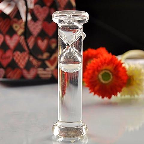 WKAIJCO Dekoration Flüssigkeit Wasser Sanduhr Valentinstag Kreativität Männer Und Frauen Freunde Klassenkameraden Geschenke
