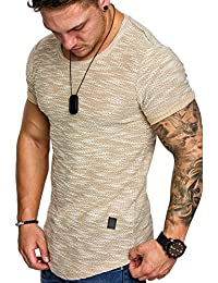 Amaci Sons Oversize Vintage Herren Shirt Sweatshirt Crew-Neck 6023 96f5a6a5c9